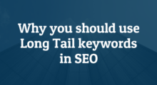 why use long tail keywords